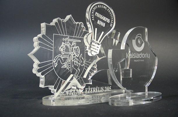Stiklo apdovanojimas